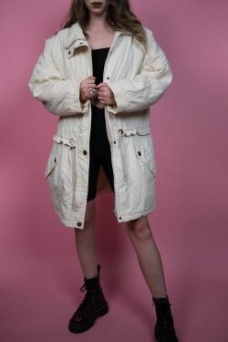 Béžová retro bunda - M/L