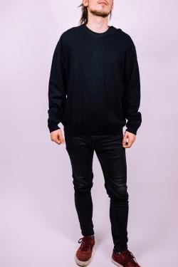 Čierny sveter Pietro Filipi - L