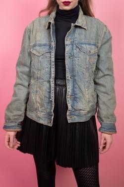 Denimová vintage bunda - M